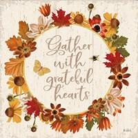 Fall Garden V Fine Art Print