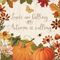 Fall Garden III Fine Art Print