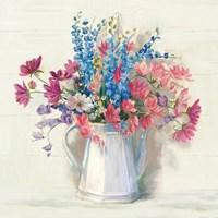 Ironstone Bouquet I Bright Fine Art Print