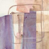 Passage I Blush Purple Fine Art Print