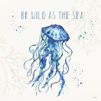 Deep Sea V Fine Art Print