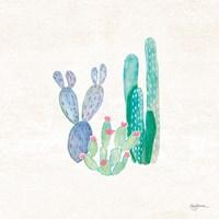 Bohemian Cactus II Framed Print