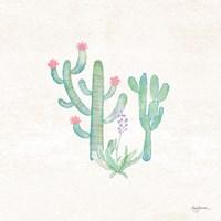 Bohemian Cactus IV Framed Print
