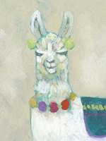 Llama Fun II Framed Print