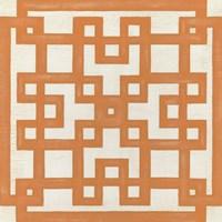 Maze Motif I Framed Print