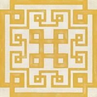 Maze Motif II Framed Print