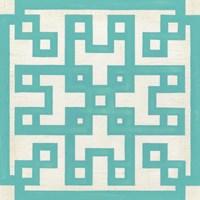 Maze Motif III Framed Print