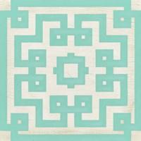Maze Motif IV Framed Print