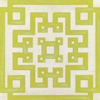 Maze Motif VI Framed Print