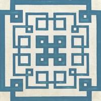Maze Motif VIII Framed Print