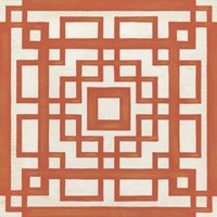 Maze Motif IX Framed Print