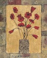 Blooms in Border III Fine Art Print