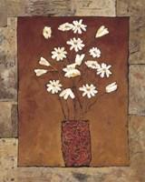 Blooms in Border IV Fine Art Print