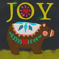 Nordic Joy I Framed Print