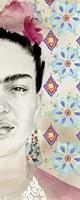 Frida Diptych I Framed Print
