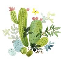 Happy Cactus III Fine Art Print