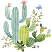 Happy Cactus IV Fine Art Print