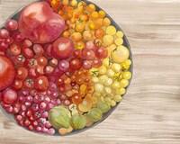 Bowls of Fruit I Framed Print