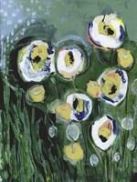 Modern White Floral III Fine Art Print