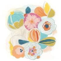 Floral Vibe I Framed Print