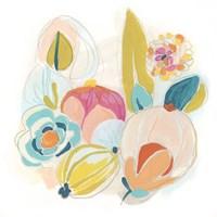 Floral Vibe II Framed Print