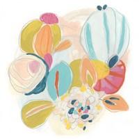 Floral Vibe IV Framed Print