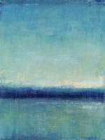 Blue Horizon I Framed Print