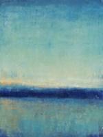 Blue Horizon II Framed Print