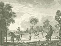 Equestrian Scenes II Fine Art Print