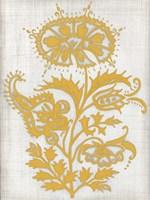 Saffron Detail II Framed Print