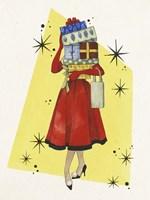 Vintage Christmas I Fine Art Print