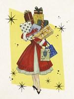 Vintage Christmas II Fine Art Print