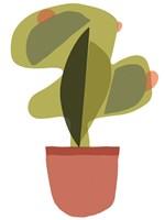 Mod Cactus V Fine Art Print