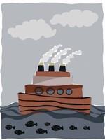 Oceans Ahoy I Fine Art Print