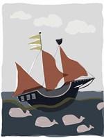 Oceans Ahoy II Fine Art Print