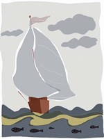 Oceans Ahoy III Fine Art Print