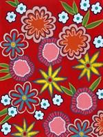 Bright Flowers II Fine Art Print