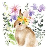 Watercolor Spring Garden I Fine Art Print