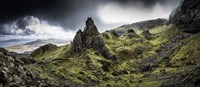 Old Man Of Storr Panorama Fine Art Print
