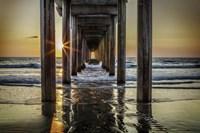 Cali Pier 3 Fine Art Print