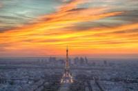 Parisian Sunset Fine Art Print