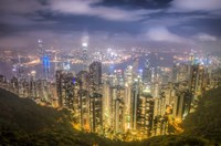 View from The Peak Hong Kong Fine Art Print