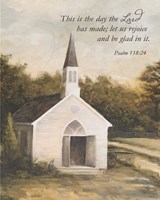 Let Us Rejoice Church Fine Art Print