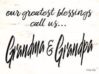 Grandma & Grandpa Fine Art Print