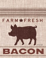Grain Sack Bacon Fine Art Print