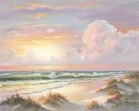 Golden Sunset on Crystal Cove Fine Art Print