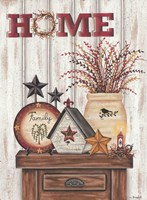 Home & Family Fine Art Print