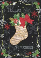 Holiday Blessings Fine Art Print