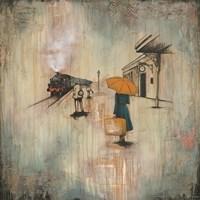 The Woman on the Platform Fine Art Print