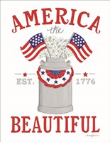 America the Beautiful Fine Art Print
